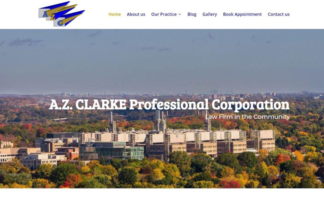 A Z Clarke LAW